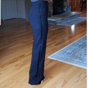 Escada Tiketana Silk Black Pants 32 Ger/2 US